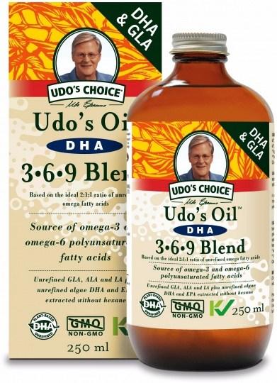 Udo's Choice DHA 3-6-9 Oil Blend 250ml