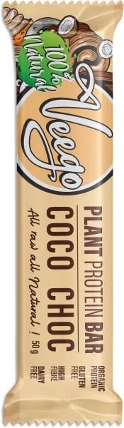 Veego Plant Protein Bar Coco Choc  10x50g