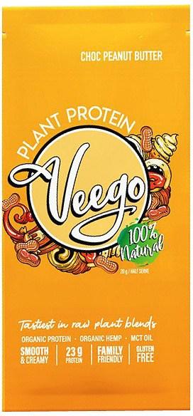 Veego Plant Protein Powder Sachet - Choc Peanut Butter  20g