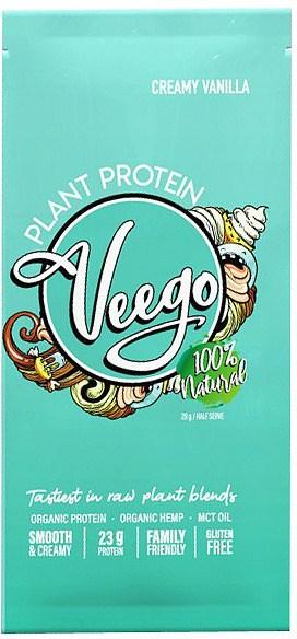 Veego Plant Protein Powder Sachet - Creamy Vanilla  20g