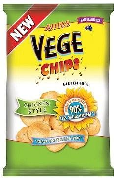 Vege Chips Chicken Style 12x50g