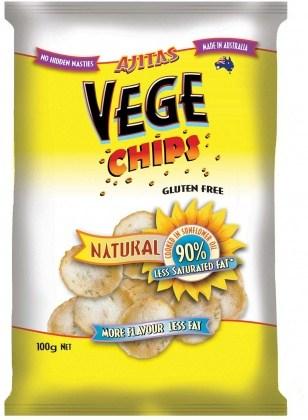 Vege Chips Natural 6x100g