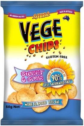Vege Chips Sweet & Sour  50g