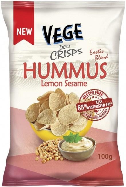 Vege Deli Crisps Hummus 100g x 5