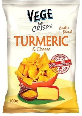 Vege Deli Crisps Turmeric & Cheese 100g