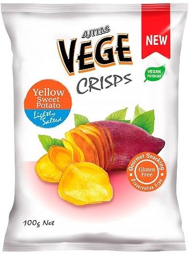 Vege Deli Crisps Yellow Sweet Potato  100g x 5