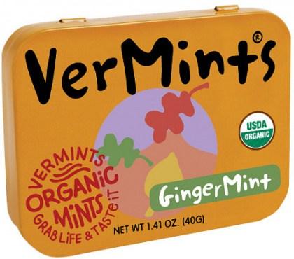 Vermints Mints Ginger Organic  40g