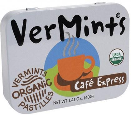 Vermints Pastilles Cafe Express Organic  40g