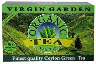 Virgin Garden Organic Ceylon Green 50Teabags