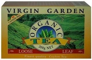 Virgin Garden Organic Ceylon Tea Loose 200gm