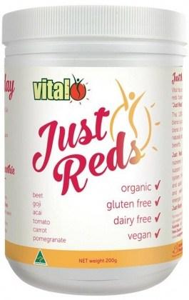 Vital Just Reds Organic 200g NOV16