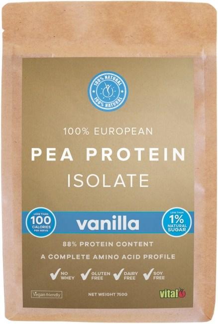 Vital Protein Pea Protein Isolate Vanilla  750g