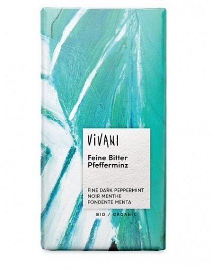 Vivani Dark Peppermint 68% Organic Chocolate 100g