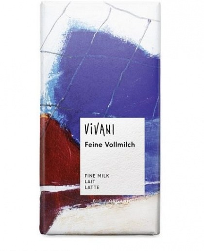 Vivani Milk Organic Chocolate Block 100g