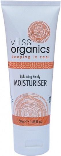 Vliss Organics Balancing Pearly Moisturiser 50ml