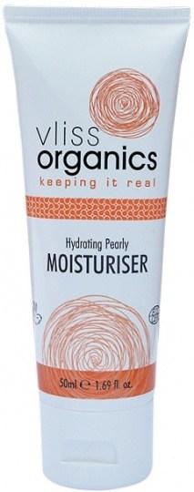 Vliss Organics Hydrating Pearly Moisturiser 50ml