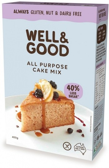 Well And Good All Purpose Cake Mix (Red Sugar)  400g