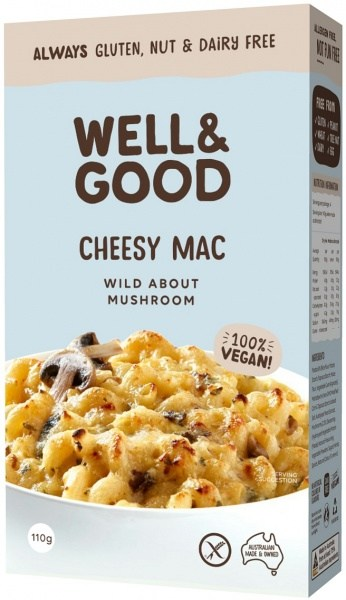 Well And Good Cheesy Mac Wild About Mushroom  110g