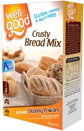Well And Good Crusty Bread Mix 460g