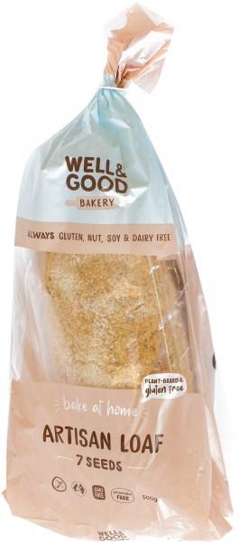 Well And Good  Artisan Loaf 7 Seeds 500g