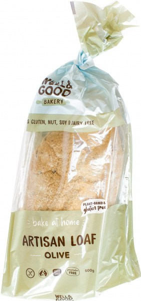 Well And Good  Artisan Loaf Olive 500g