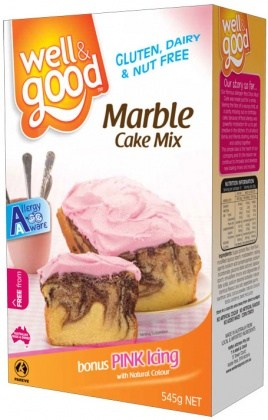 Well And Good Marble Cake Mix 545g