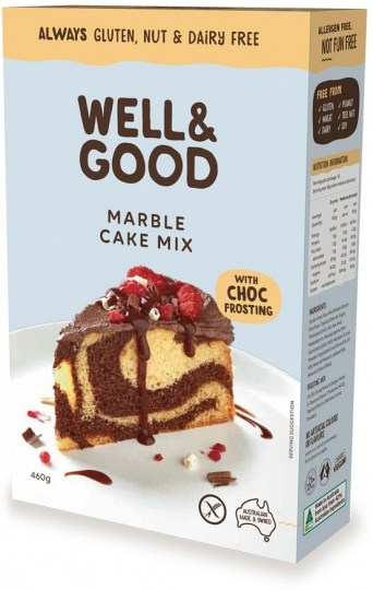 Well And Good Marble Cake Mix & Choc Frosting  450g