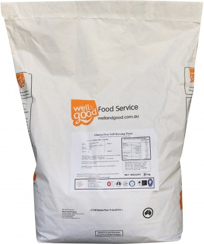 Well And Good Self Raising Flour 15kg bag