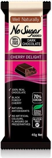 Well,naturally S/F Choc Bar Cherry Delight 16x45gm