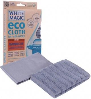 White Magic Eco Cloth Barbecue 2Pk - 32x32cm