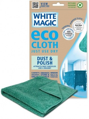 White Magic Eco Cloth Dust & Polish - 32x32cm