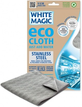 White Magic Eco Cloth Stainless Steel - 32x32cm