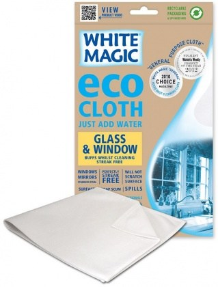 White Magic Eco Cloth Window & Glass - 32x32cm