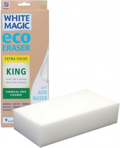 White Magic King Size Eraser Sponge - 28x11x4cm