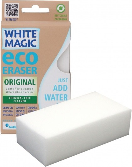 White Magic Standard Eraser Sponge - 11x7x4cm