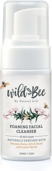 Wild Bee Foaming Facial Cleanser 100g