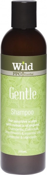 Wild Gentle Hair Shampoo 250ml