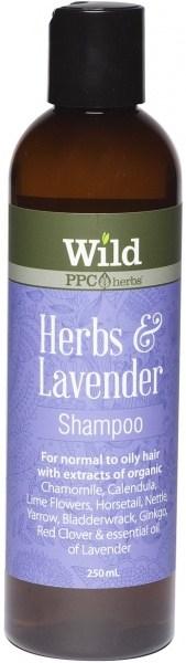 Wild Herbs & Lavender  Hair Shampoo 250ml