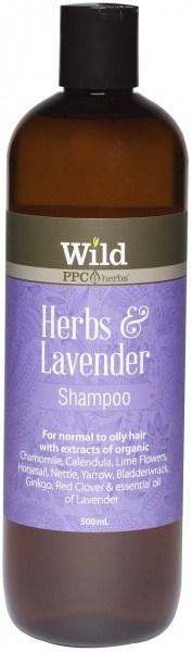 Wild Herbs & Lavender Hair Shampoo  500ml