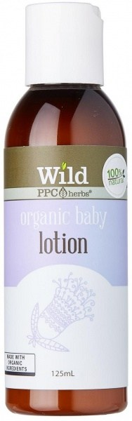 Wild Organic Baby Body Lotion 125ml