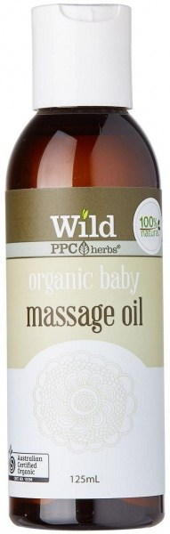 Wild Organic Baby Body Massage Oil 125ml