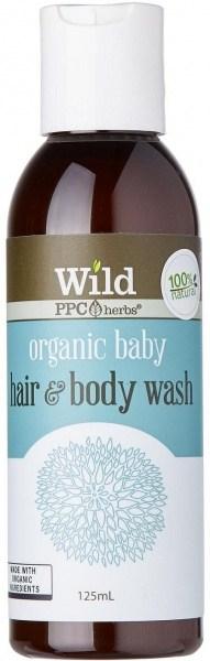 Wild Organic Baby Body Wash 125ml