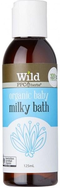 Wild Organic Baby Milky Bath 125ml