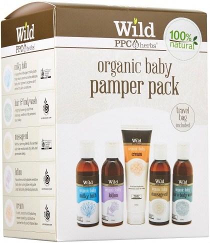 Wild Organic Baby Pamper Pack