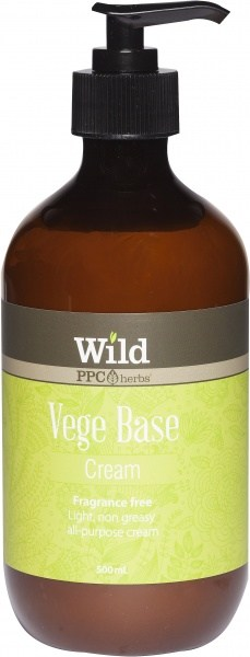 Wild Vege Base Cream 500ml Pump