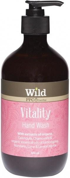 Wild Vitality Hand Wash 500ml