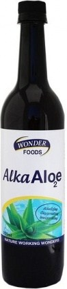 Wonderfoods Alka Aloe2 750ml MAY19