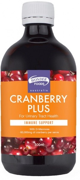 Wonderfoods Cranberry Plus 500ml