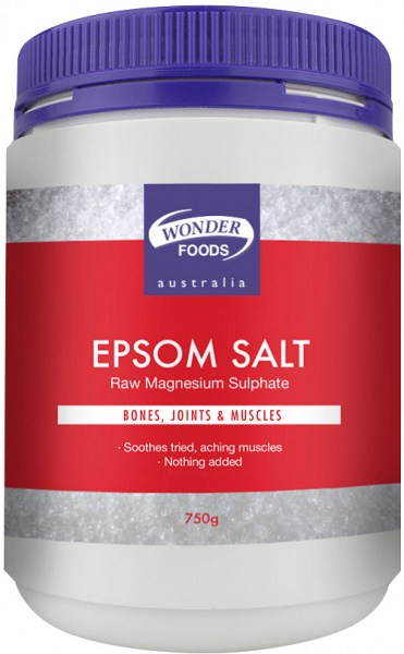 Wonderfoods Epsom Salt 750g