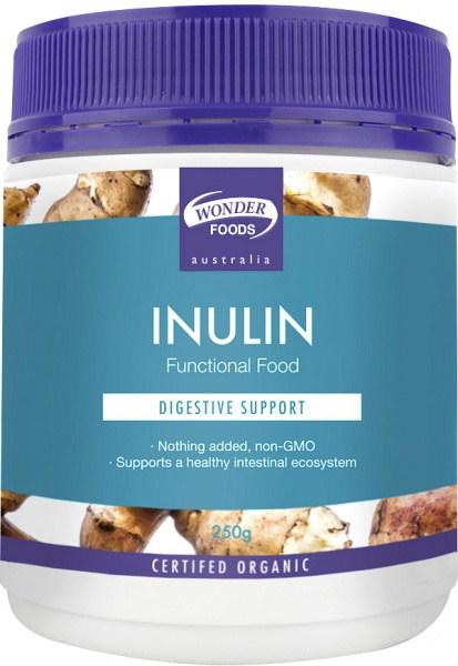 Wonderfoods Inulin 250g Organic
